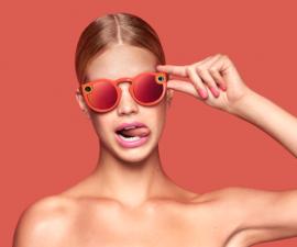 Gli spectacles di snapchat