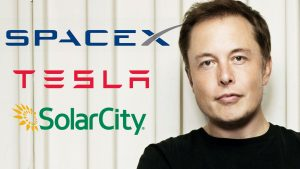 Elon Musk, fondatore di Tesla, azienda produttrice di auto elettriche