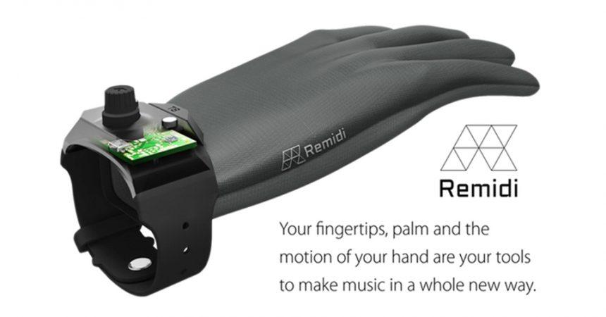 Remidi T8 il primo strumento musicale indossabile