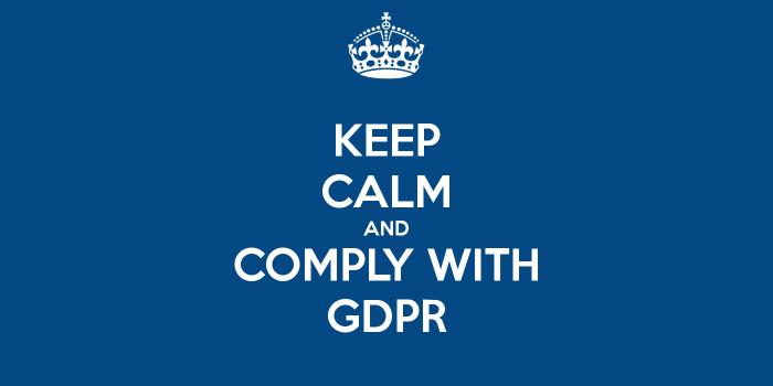 regolamento per la protezione dei dati personali