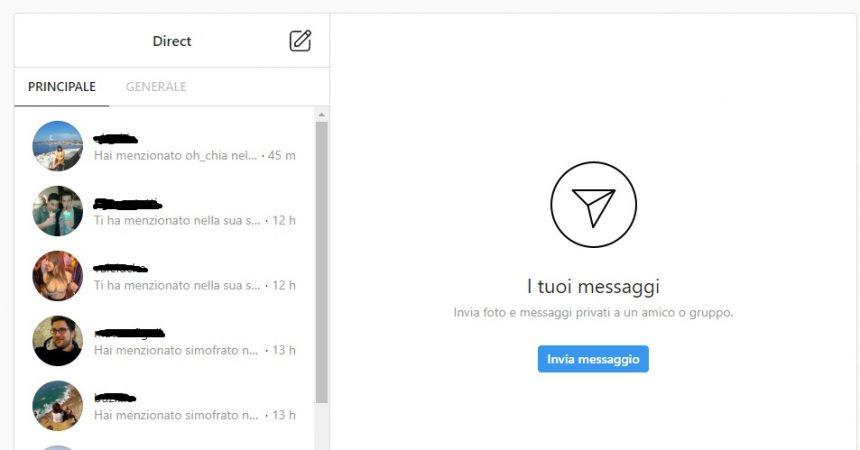 direct message: instagram testa i messaggi che scompaiono
