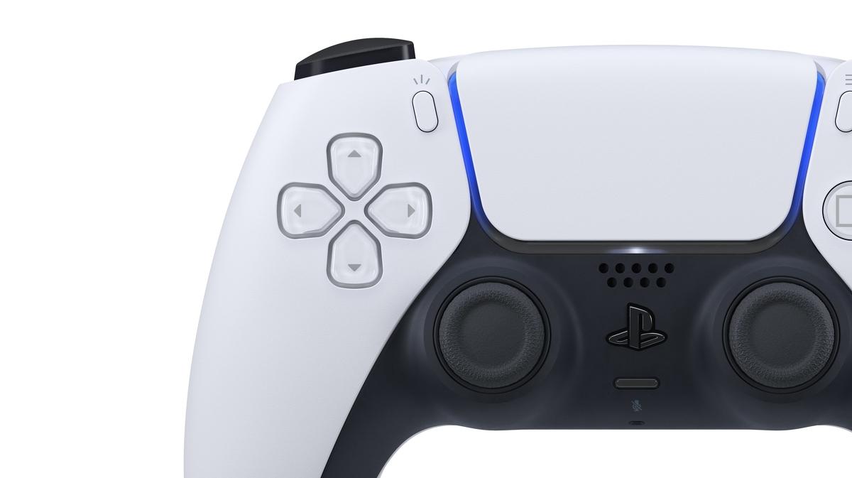 dettaglio della foto del nuovo controller di PS5
