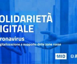 solidarietà digitale ai tempi del coronavirus - agid